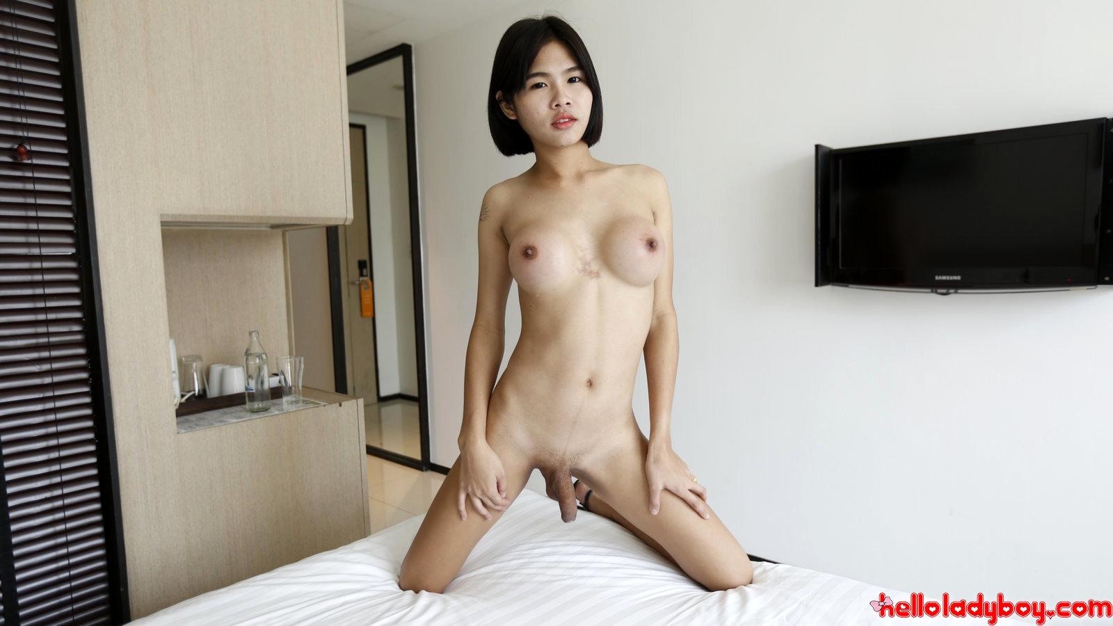 21 Yr Old Shy Asian Ladyboy Sucks Off Tourists Penis