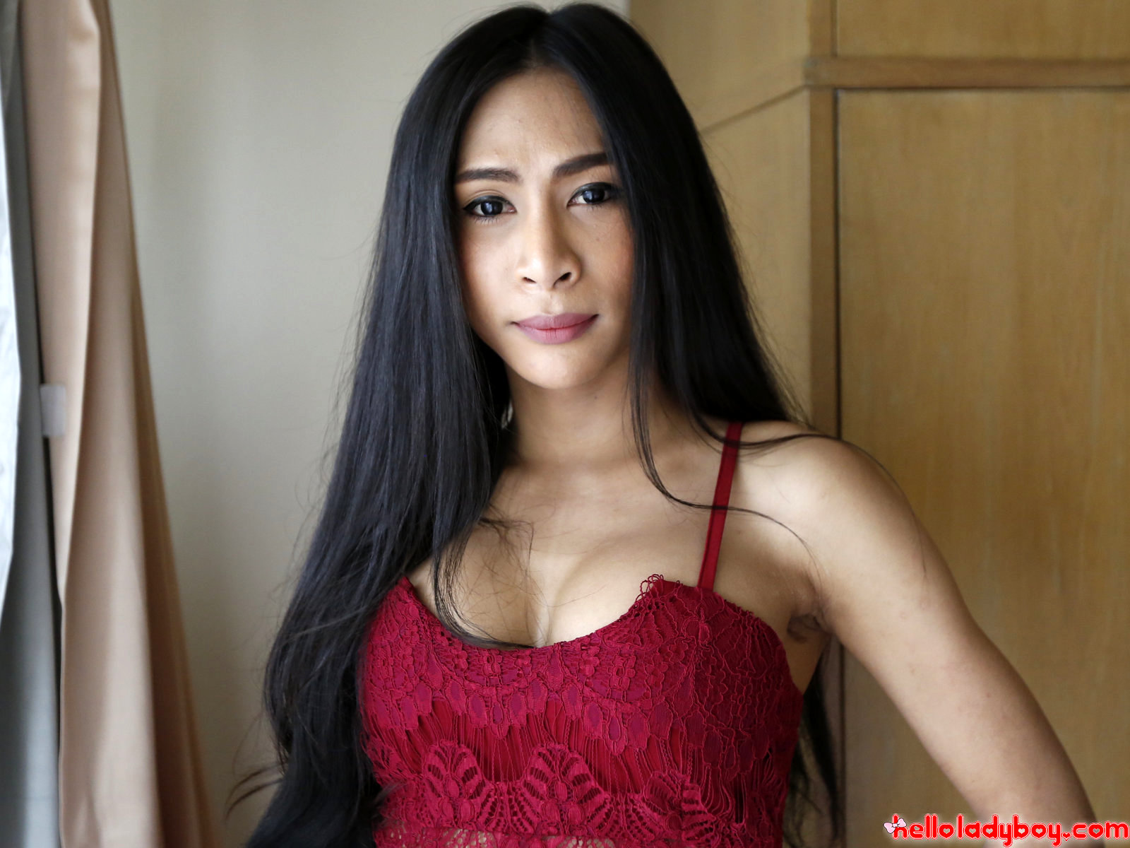 25 Year Old Shy Asian Tgirl Sucks Off White Dick And Gets A Facial