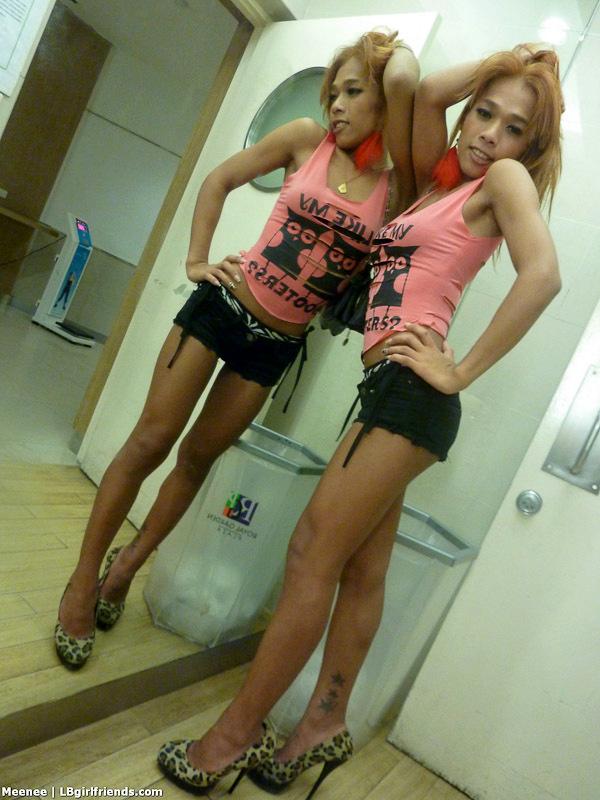 Amateur Asian T-Girl Meenee