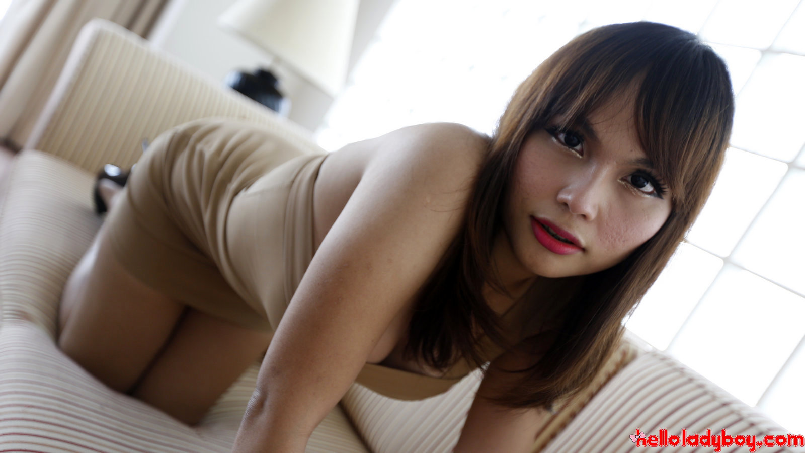 Asian Tgirl Gets A Facial From Foreign Tourist