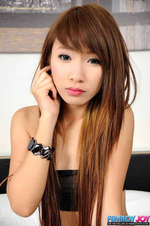 Awesome 18 Year Old Ladyboy From Thailand
