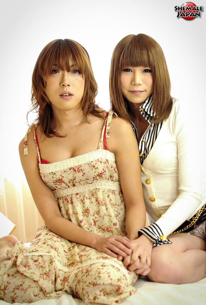 Enjoy This Sultry Rough Featuring Newhalfs Ran Mizumoto And Koyuki Kase!