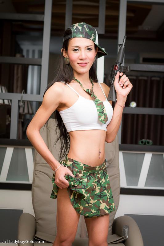 Enormous Black Military Penis