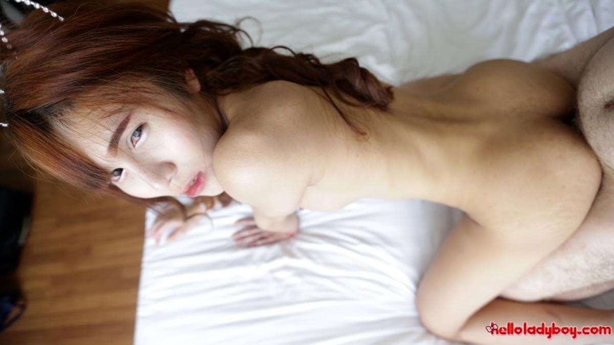 Huge Boobed Thai T-Girl Takes Raw Asshole Reaming And Dribbles Sperm