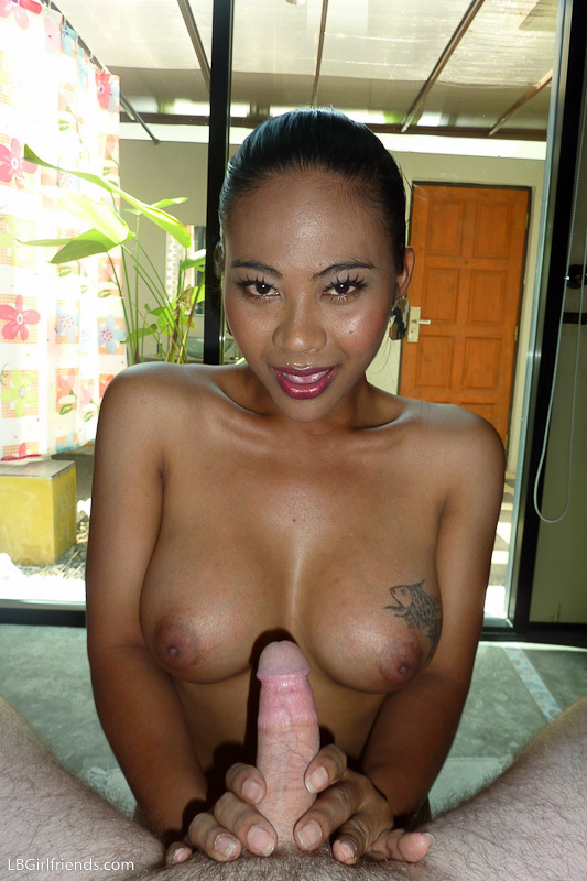 Jasmines Enormous Transexual Tool Throbs Wildly While No Condom Nailing