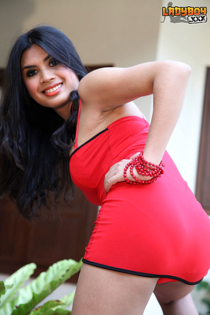 Lidia Is A Steamy T-Girl With Curves In All The Right Places, Huge Breasts, A Provoking And Fat Butt And A Rough Cock!