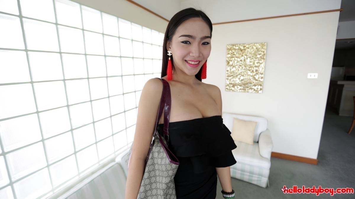 Marvelous Huge Dicked Asian Ts Opens Ass-Hole For Tourist After Date
