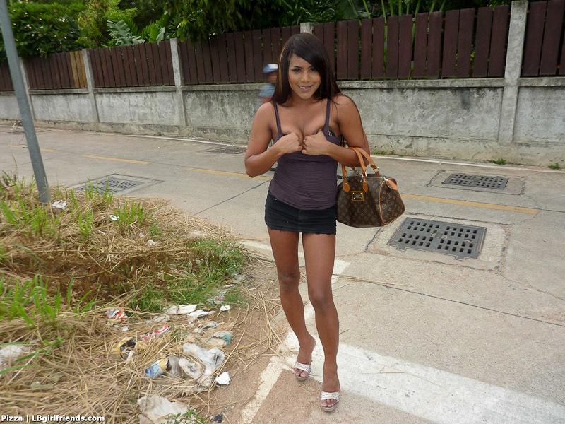 Off Road Jizz Scene From Amateur Transexual