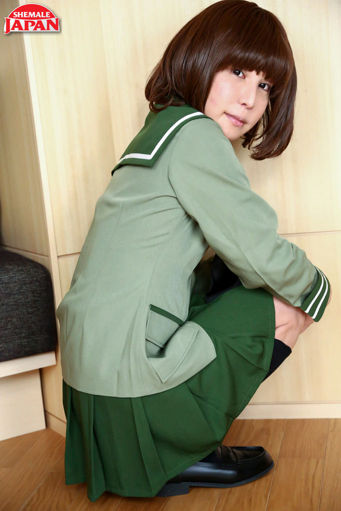 Perfect Miharu Showing Off Her Assets