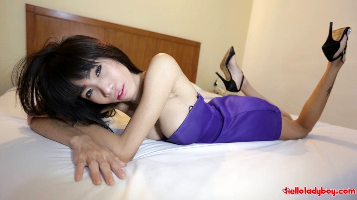 Slim Enormous Tool Ts From Pattaya Enjoys Anal Plugging