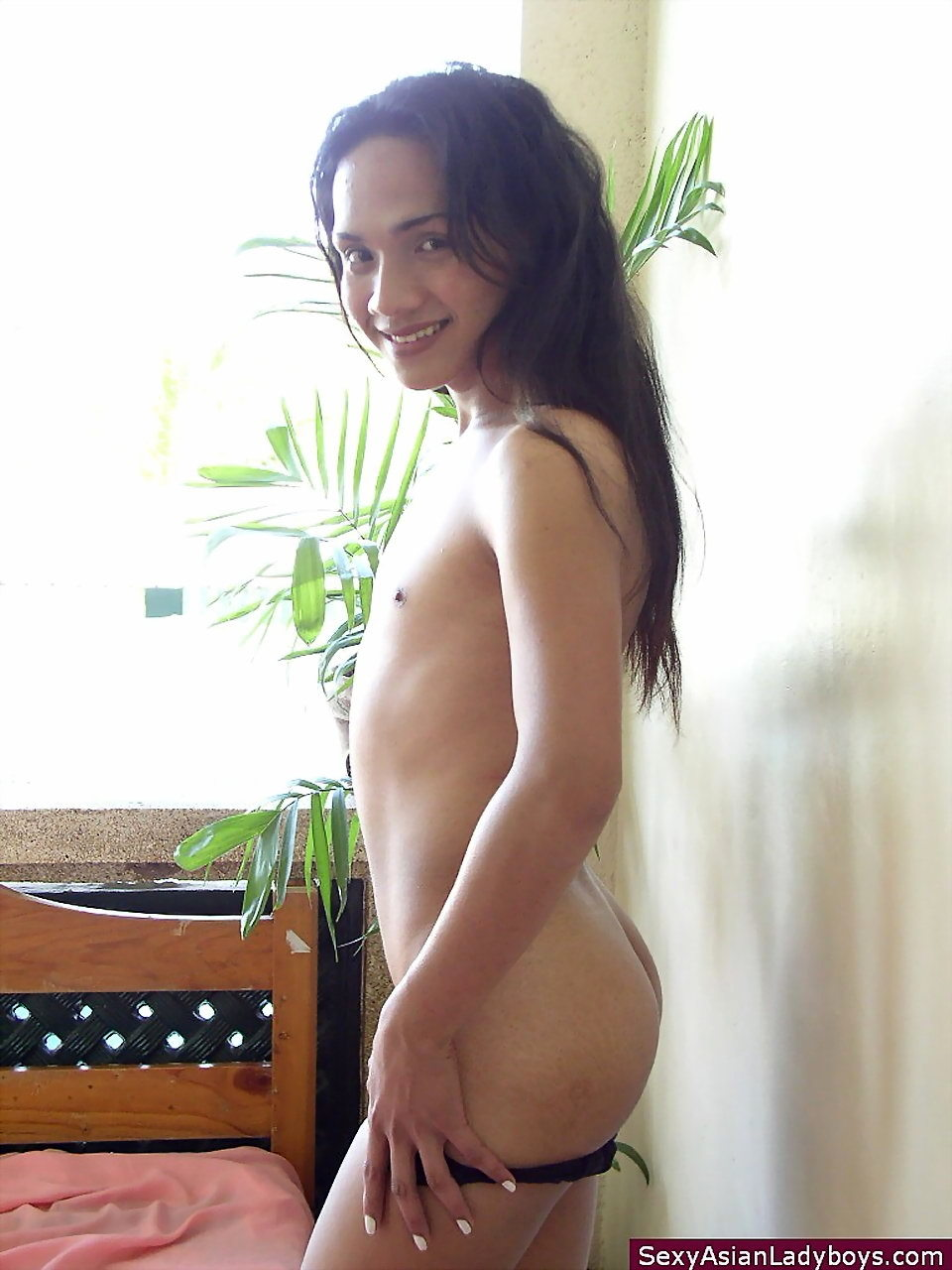 Tantalizing Thai TGirl Offering Her Assets To Get Laid