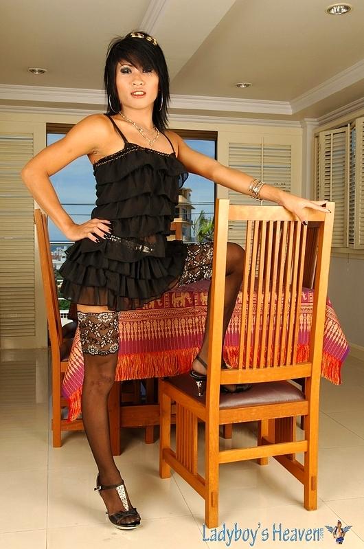Thai T-Girl Gypsy Getting Ruined