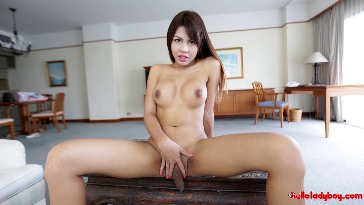 Wild Busty Asian Tgirl With Massive Dick Extracts Foreign Spunk